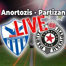 KIPRANI NISU TAJ NIVO: Partizan pobedio Anortozis, Menig stigao do prvenca (VIDEO)