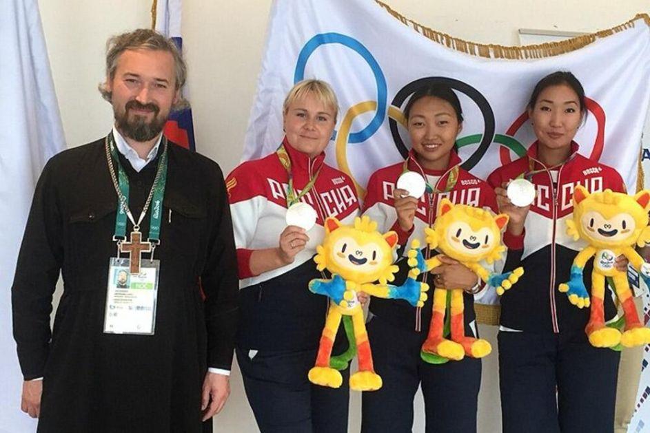 LITURGIJA U OLIMPIJSKOM SELU: Ruski sportisti se pričestili pred sportska takmičenja u TOKIJU!
