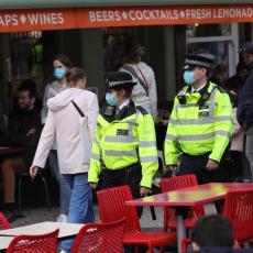 LONDON U HAOSU! U finansijskoj prestonici uhapšeno desetina građana na protestu protiv novih epidemioloških mera