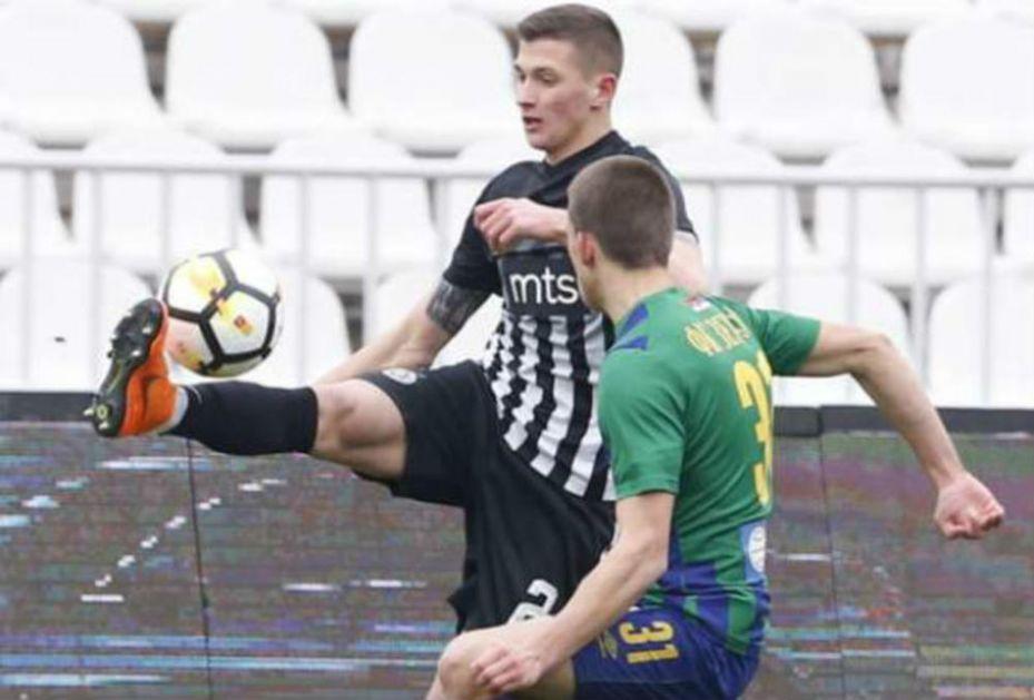 LUKA CUCIN NOVI FUDBALER VOJVODINE: Bivši fudbaler Partizan potpisao trogodišnji ugovor
