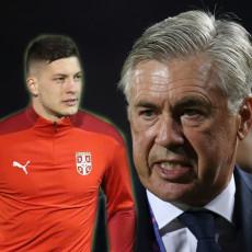 LUKA MU NIJE PO VOLJI: Anćeloti tera jednog, ali dovodi drugog Srbina u Real