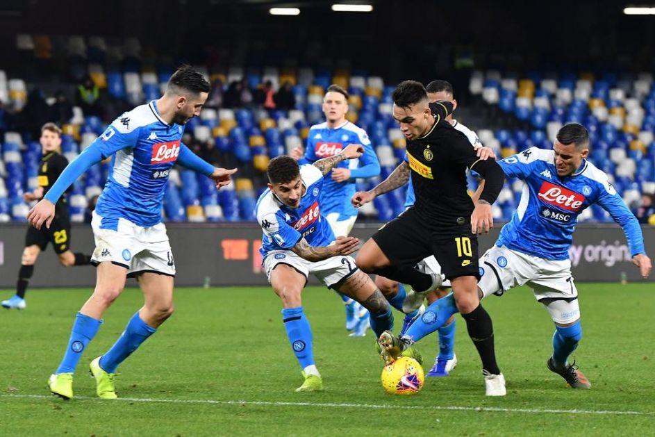 LUKAKU I MARTINES ZA SLAVLJE U DERBIJU: Inter pobedio Napoli za povratak na prvo mesto u Seriji A! VIDEO