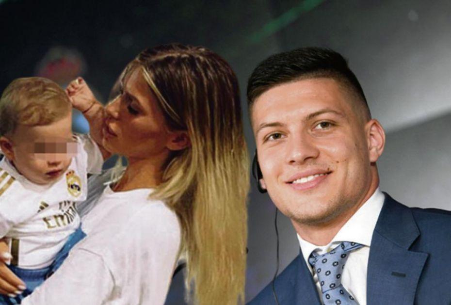LUKINOJ SREĆI NIJE BILO KRAJA: Jović nije došao na rođendan svog sina, ali danas mu ga je tata doveo u Madrid! FOTO