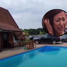LUKSUZ I MASOVNE ORGIJE: Pojavio se SNIMAK - u ovoj vili uhapšena je Tijana Ajfon (VIDEO)