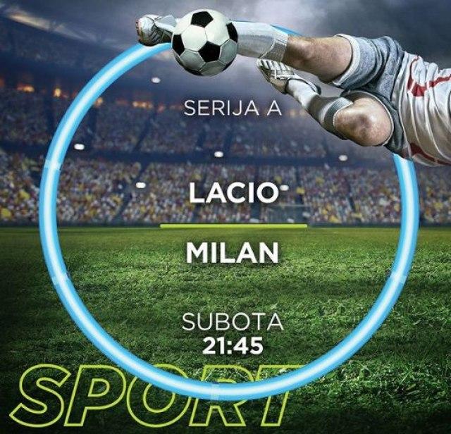 Lacio – Milan na TV B92