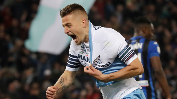 Lacio osvojio Kup Italije, Sergej strelac vodećeg gola