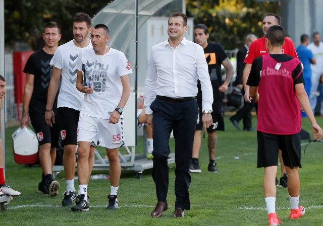 Lalatović: Bežanija prava uvertira za Partizan
