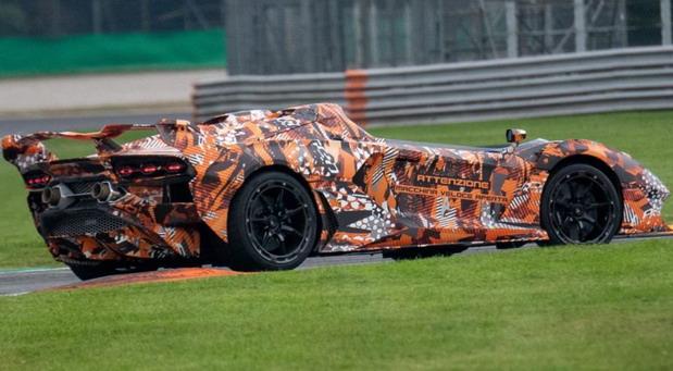Lamborghini Macchina Veloce Aperta