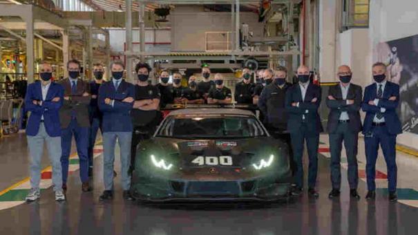 Lamborghini proizveo 400 trkačkih Huracana