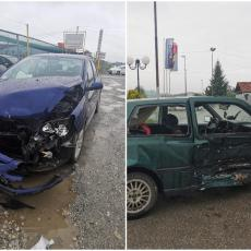 Lančani sudar na obilaznici oko Čačka: Učestvovala tri vozila i povređeno četvoro ljudi (FOTO)