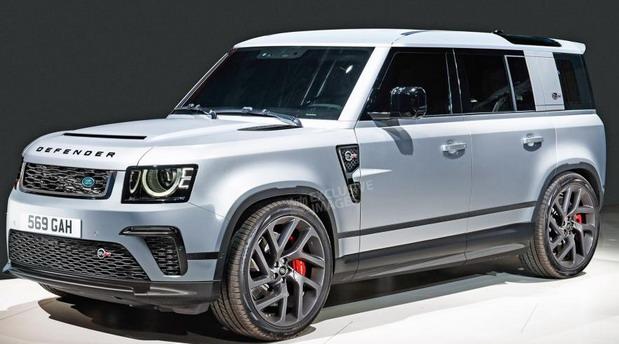Land Rover Defender SVR sa BMW V8 motorom stiže sledeće godine