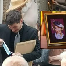 Lav Pajkić slomljen nakon opela: Izašavši iz kapele, počeo NEUTEŠNO da plače (FOTO)