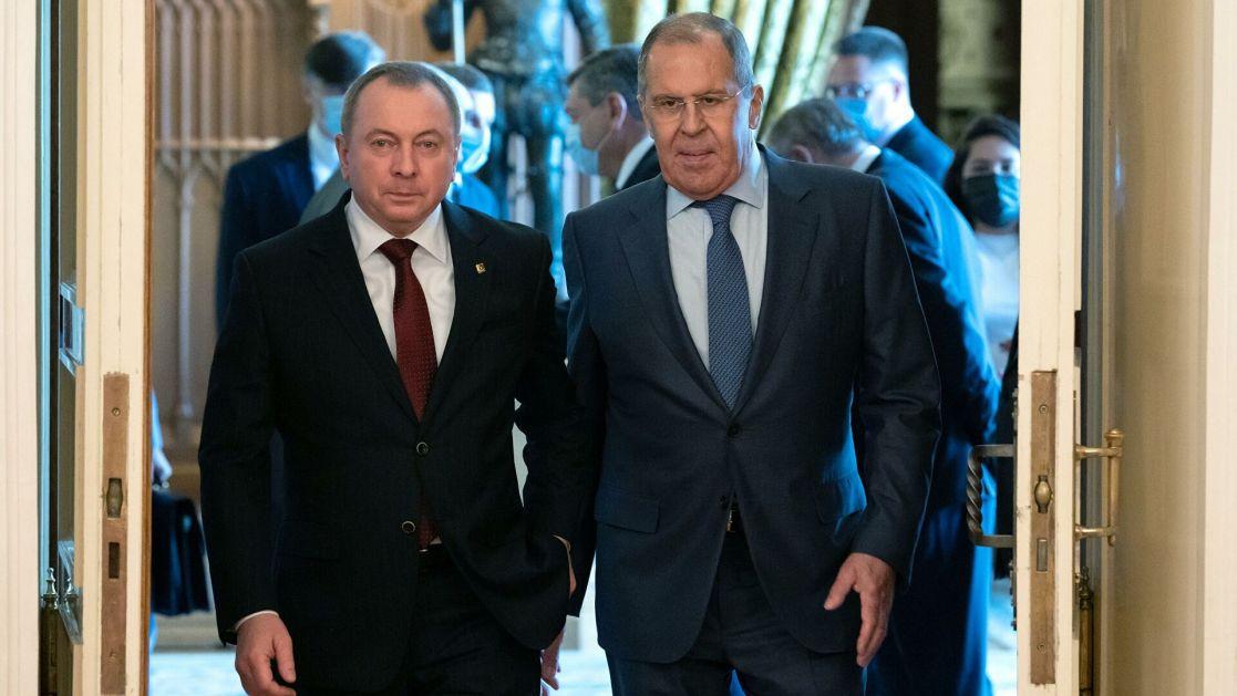 Lavrov: Uzimajući u obzir otvoreno agresivnu liniju Zapada, Rusija i Belorusija koordinišu napore u cilju jačanja državnog suvereniteta