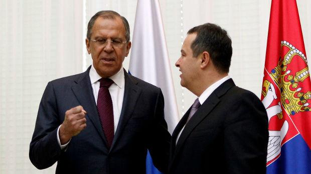 Lavrov i Vang čestitali Dačiću Dan državnosti