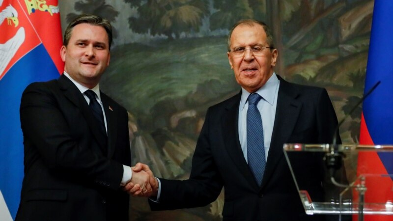 Lavrov Selakoviću u Moskvi: Rusija nastavlja da podržava Beograd u vezi sa Kosovom