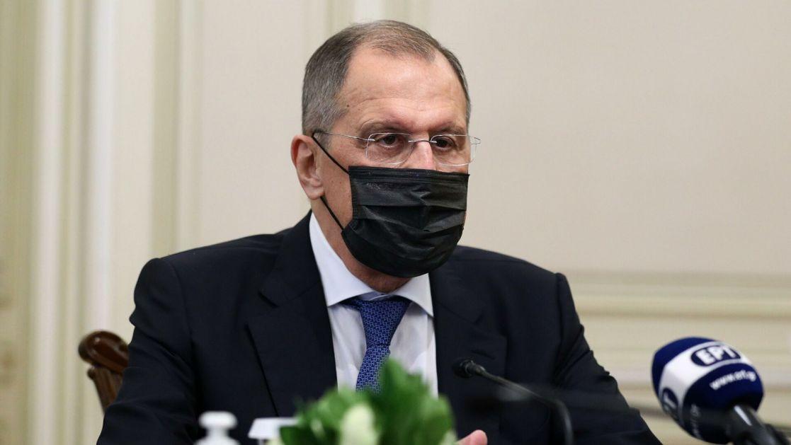 Lavrov u samoizolaciji: Odložena poseta Srbiji