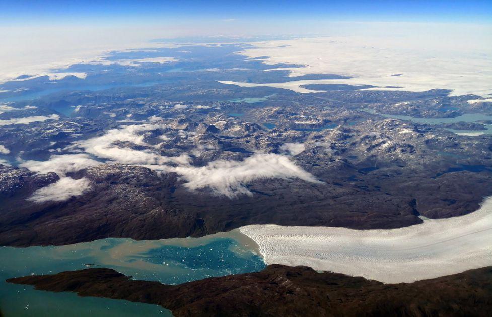Led na Grenlandu se sve više topi
