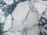Ledena polica Milne: Sateliti snimili razdvajanje leda na Arktiku
