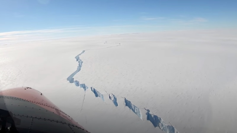 Ledeni breg veći od Njujorka odvojio se od Antarktika