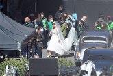 Lejdi Gaga u venčanici zbunila stanovnike Rima