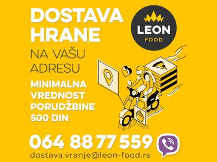 Leon food: Dostava hrane i TOKOM VIKENDA