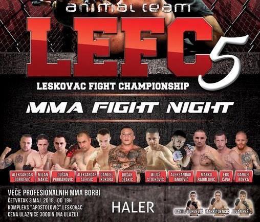 Leskovac Fight Championship -MMA spektakl