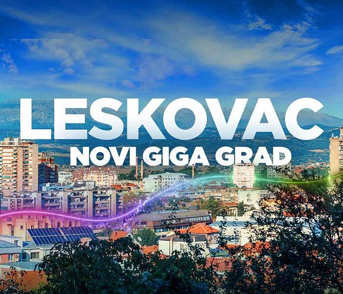 Leskovac je novi GIGA grad