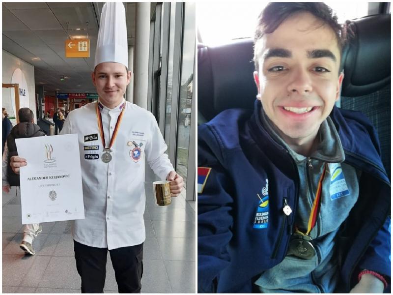 Leskovački student i Nišlija osvojili medalje na Kulinarskoj olimpijadi