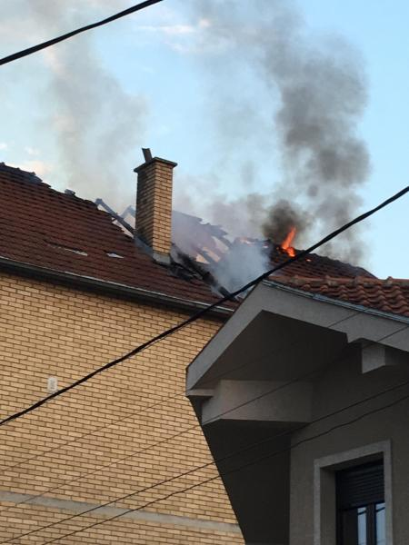 Leskovčanin namerno izazvao požar u porodičnoj kući