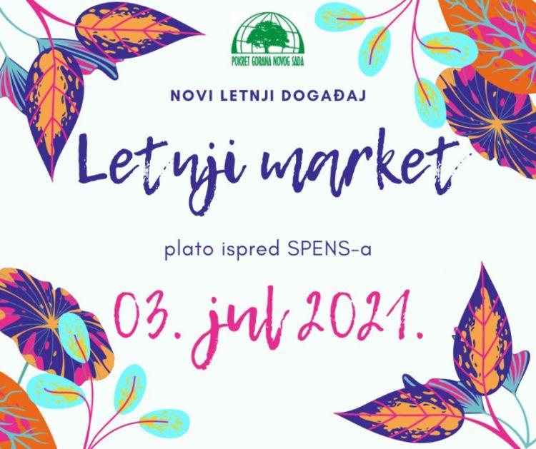 Letnji market 3. jula na platou Spensa
