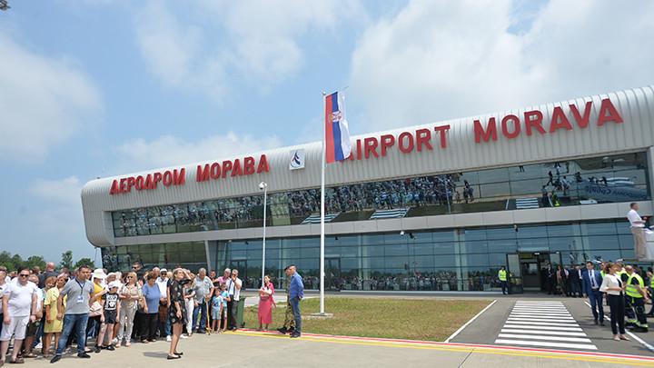 Letovi Er Srbije danas redovno sa aerodroma u Nišu