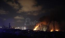 Liban: 2.750 tona amonijum nitrata eksplodiralo u luci Bejruta