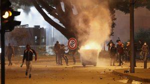 Libanci podmetnuli požar u kancelarijama vladajućih stranaka