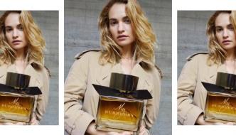 Lily James ponovno kao lice kultnog parfema My Burberry