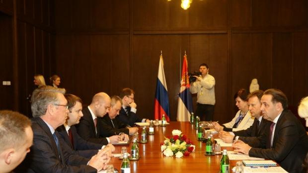 Ljajić i Oreškin o unapređenju ekonomsko-trgovinske saradnje