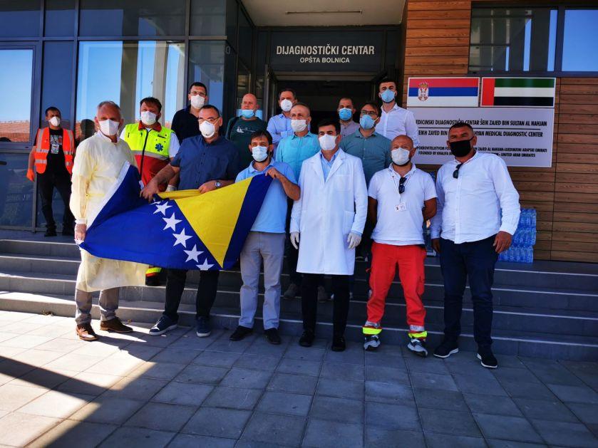 Ljekari iz Sarajeva stigli u Novi Pazar