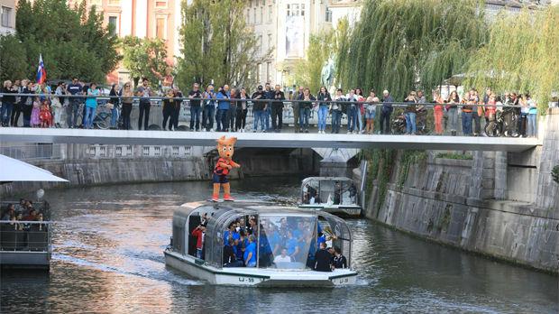 Ljubljana dočekala srebrne odbojkaše