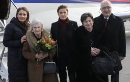 Logorašica iz Srbije sa premijerkom Srbije na ceremoniji u Aušvicu