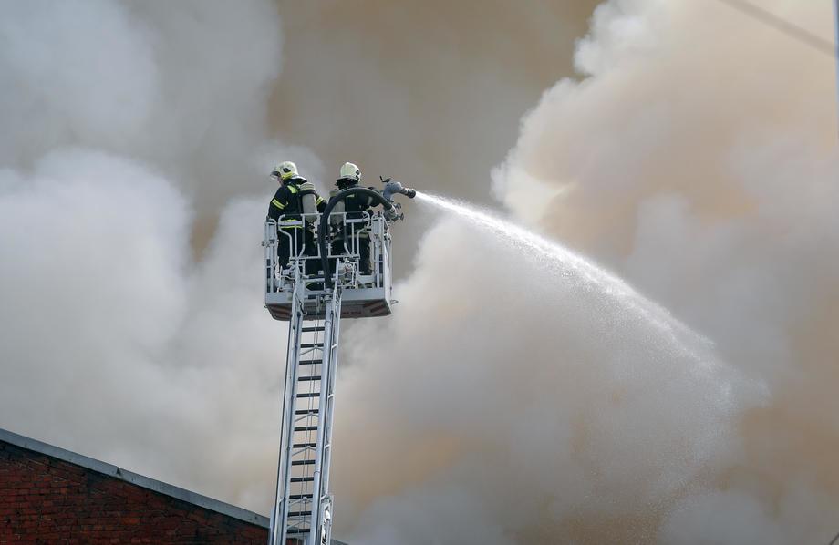 Lokalizovani požari kod Kosova Polja