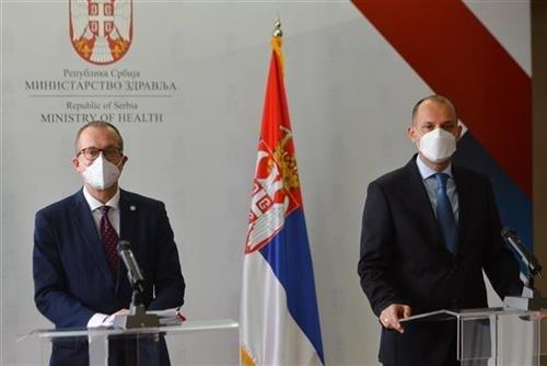 Lončar i Kluge u Torlaku: Vakcina spašava život, Srbija uzor