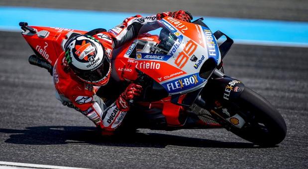 Lorenco doživeo težak pad na treningu pred Moto GP trku Tajlanda