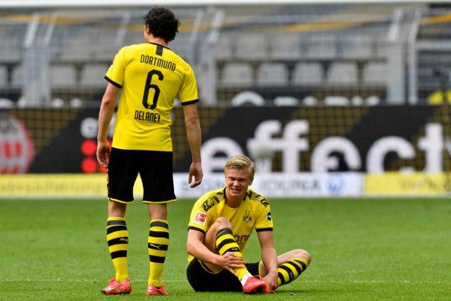 Loše vesti za Dortmund: Haland povređen, vezista završio sezonu