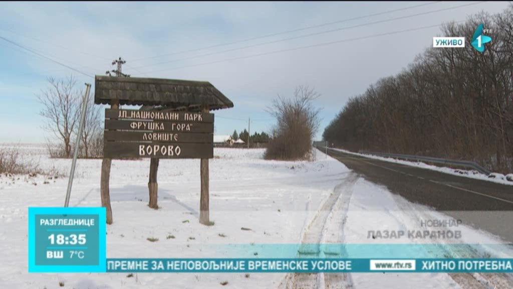 Lovište Vorovo kod Erdevika - jedno od najvećih ograđenih lovišta bivše Jugoslavije