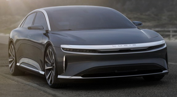 Lucid Motors počinje proizvodnju, Air stiže 2020. godine