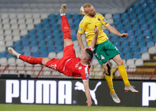 Luka Jović je protiv Portugala odigrao tek par minuta, protiv Luksemburga neće moći ni toliko...