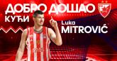 Luka Mitrović se vratio u Zvezdu