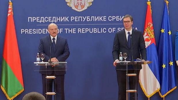 Lukašenko poručuje da će Belorusija uvek pružati podršku Srbiji