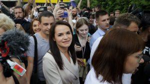 Lukašenkova rivalka se sklonila u Litvaniju i pozvala pristalice da prekinu s protestima
