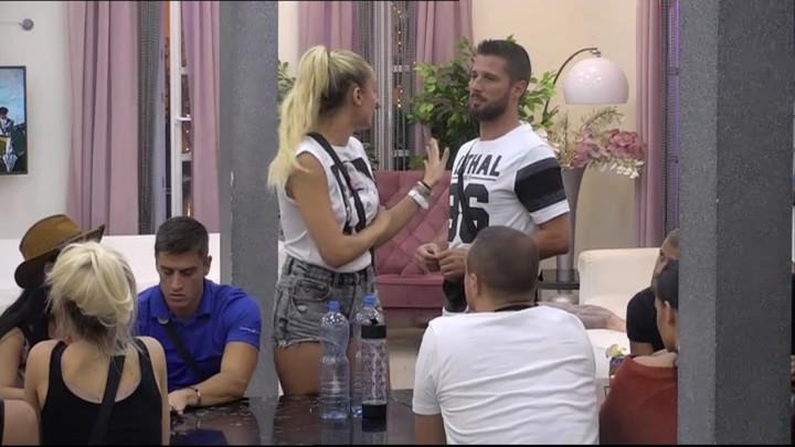 Luna tvrdi da nije flertovala sa Markom Markovićem, Miljković je POKOPAO PRED SVIMA! Ona poludela, PA SPOMENULA SLOBU! (VIDEO)