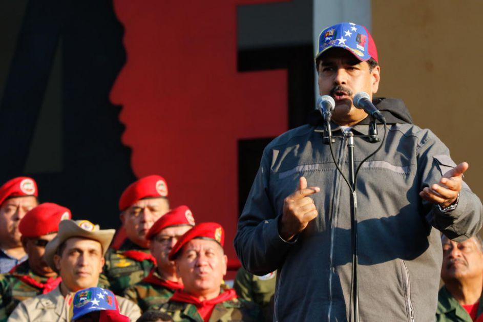 MADURO PREDUZIMA OŠTRE MERE: Formirao vojnu komandu koja će štititi strateške objekte
